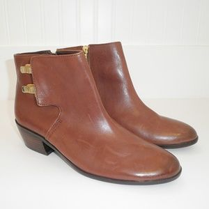Sam Edelman PETER Cognac Autumn BOOTIES